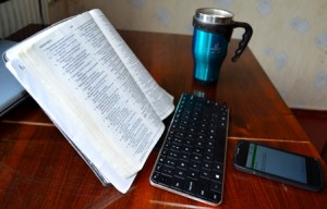 bible stand downsized